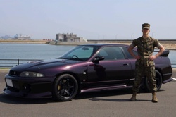How do you buy a JDM car in Japan as a US military member?